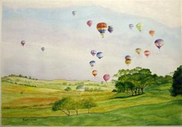 Balloons over the Barossa - Beth Wreford sm