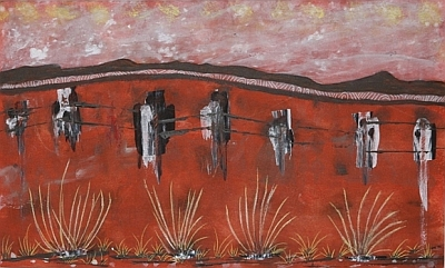 Fencing by Val Surch Acrylic(640x390) sm