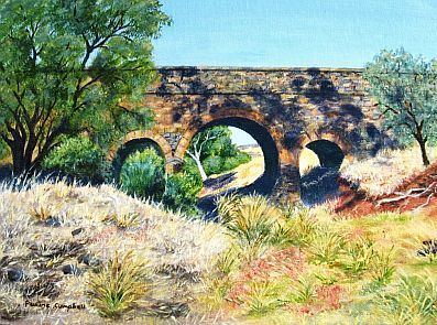 Ross Creek Bridge by Pauline Campbell sm4