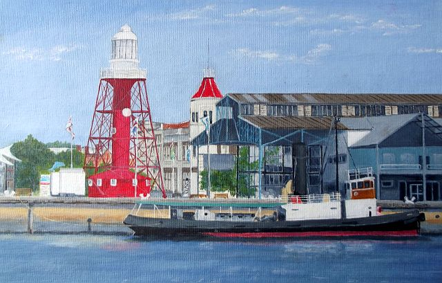 'Port Adelaide' by Pauline Campbell sm