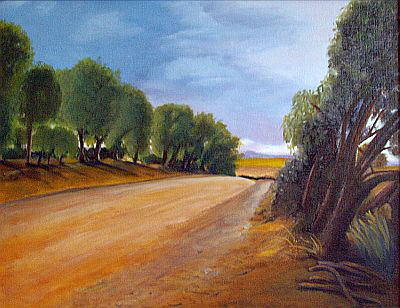 Country Road, Kapunda 2012-Anne Gonaus sm