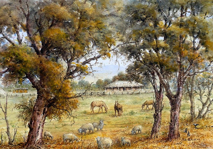 DSC05897.JPG Walter Gray  Rural Harmony  watercolour $390 sms