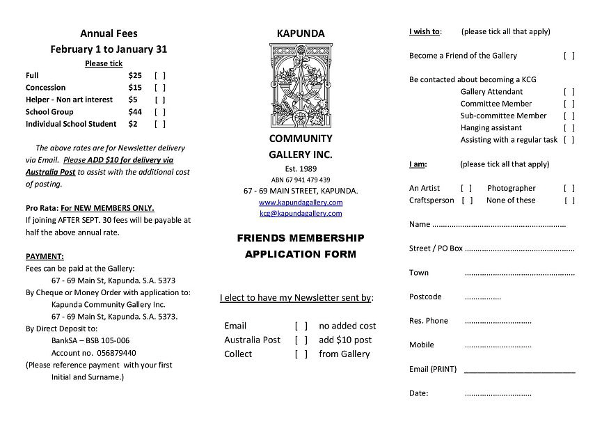 KCG  Membership Application 201704 sm