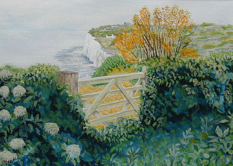 Janice Clarke �The White Cliffs of Dover�